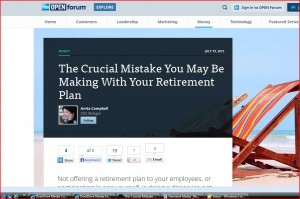 Small businesses have several inexpensive retirement plan options.