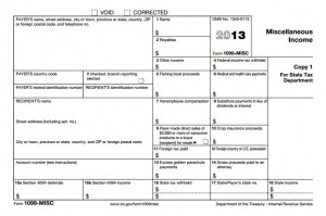 IRS Form 1099-MISC for 2013